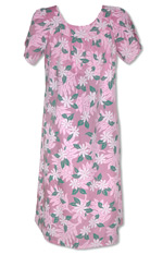 Pacific Orchid Long Tank Dress