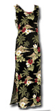 Hibiscus Island Long Tank Dress STYLE 190